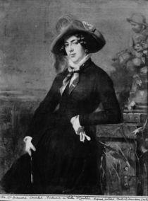 Portrait of Lola Montez , 1844 by Nicolas Toussaint Charlet