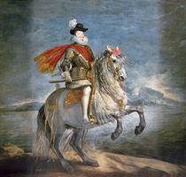 Equestrian Portrait of Philip III c.1628-35 by Diego Rodriguez de Silva y Velazquez