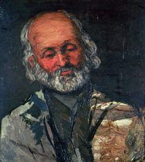 Head of an Old Man, c.1866 by Paul Cezanne