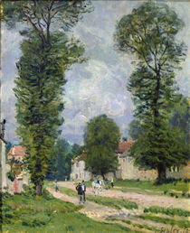 The Road to Marly-le-Roi, or The Road to Versailles von Alfred Sisley