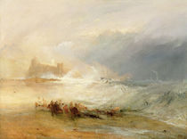 Wreckers - Coast of Northumberland by Joseph Mallord William Turner