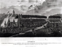 View of the Great Treaty Held at Prairie du Chien by James Otto Lewis