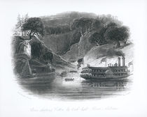 Slaves Shipping Cotton by Torch-Light by William Henry Brooke