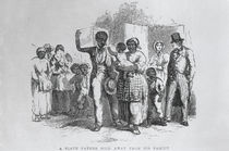 A Slave Father Sold Away from his Family by American School