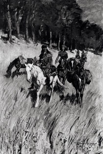Early Pioneers on the Blue Ridge by Frederic Remington