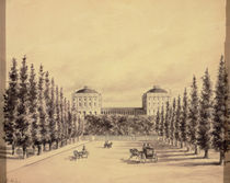 United States Capitol from Pennsylvania Avenue by Benjamin Henry Latrobe