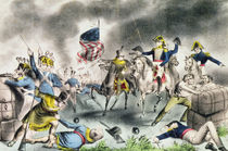 The Battle of New Orleans, January 8th 1814 pub. by Nathaniel Currier by American School