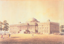 Capitol of the United States by Benjamin Henry Latrobe