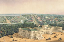 View of Washington, pub. by E. Sachse & Co. by Edward Sachse
