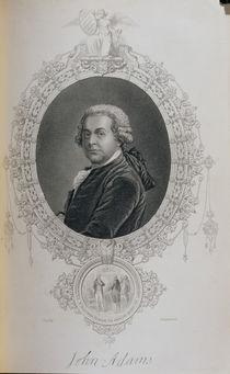 John Adams, from 'The History of the United States' by John Singleton Copley