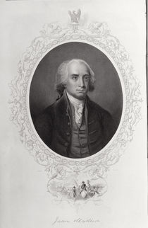 James Madison, from 'The History of the United States' by American School