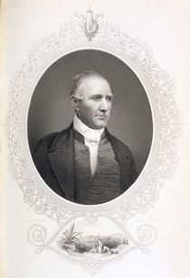General Samuel Houston, from 'The History of the United States' by American School
