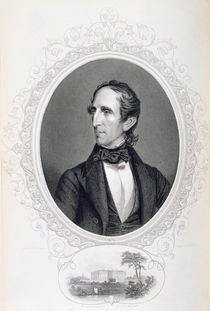 John Tyler, from 'The History of the United States' by Charles Fenderich