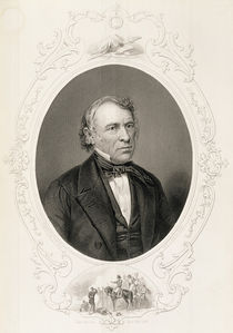 General Zachary Taylor, from 'The History of the United States' by Mathew Brady