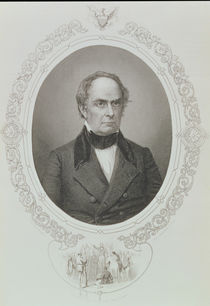 Daniel Webster, from 'The History of the United States' by Mathew Brady