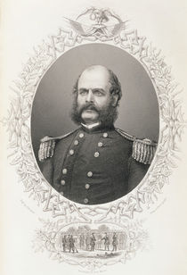 Major General Ambrose Everett Burnside by American School