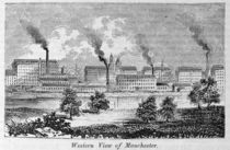 Western View of Manchester by American School