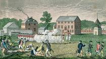 The Battle of Lexington, April 19th 1775 von American School