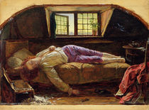 The Death of Chatterton, c.1856 by Henry Wallis
