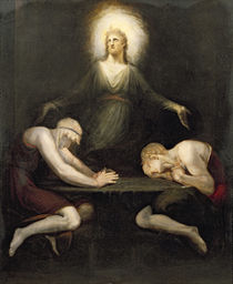 The Appearance of Christ at Emmaus by Henry Fuseli