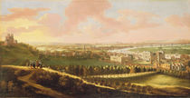 London from Greenwich Hill by English School