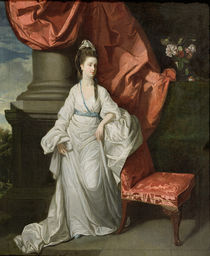Lady Grant, Wife of Sir James Grant von Johann Zoffany