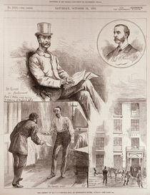 The Arrest of Mr. C.S. Parnell by English School