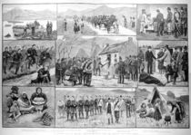 On Eviction Duty in Ireland: Sketches in Galway with the Military and Police Forces von English School