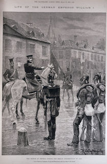 The Prince of Prussia During the Berlin Insurrection of 1848 von Richard Caton II Woodville