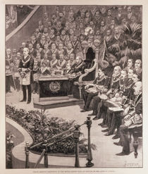 Grand Masonic Gathering in the Royal Albert Hall in Honour of the Queen's Jubilee von Amedee Forestier