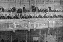 The House of Commons: The Reporters' Gallery von English School