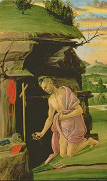 St. Jerome, 1490s by Sandro Botticelli