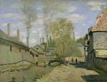 The Stream of Robec at Rouen by Claude Monet