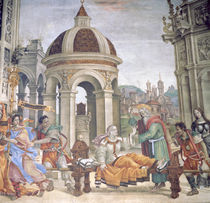 The Raising of Drusiana, from the Strozzi Chapel by Filippino Lippi