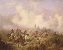A Scene from the Russian-Turkish War in 1877-78 by Aleksei Danilovich Kivshenko