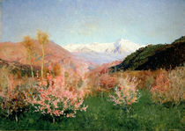 Spring in Italy, 1890 by Isaak Ilyich Levitan