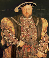Portrait of Henry VIII aged 49 von Hans Holbein the Younger