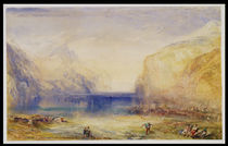 Fluelen: Morning 1845 von Joseph Mallord William Turner