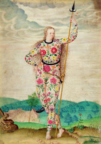 A Young Daughter of the Picts by Jacques Le Moyne