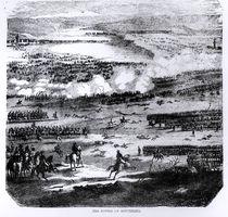 The Battle of Austerlitz, 2 December 1805 by English School