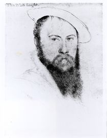 Portrait of Sir Thomas Wyatt the Younger von Hans Holbein the Younger