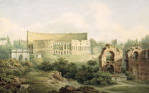The Colosseum, Rome, 1802 by John Warwick Smith