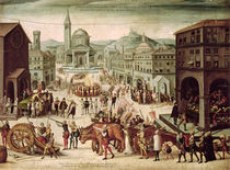 The Sack of Lyons by the Baron des Adrets April 1562 by French School