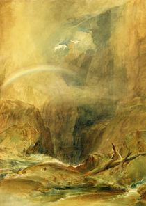Devil's Bridge, St. Gotthard's Pass von Joseph Mallord William Turner