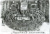 The Anatomy Theatre, Leiden by Willem van Swanenburgh
