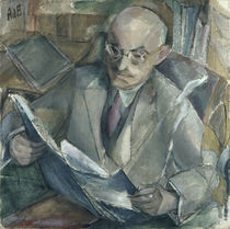 Portrait of Dr Georg Wendemuth by Alma Del Banco