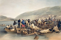 The Embarkation of the Sick at Balaklava von William 'Crimea' Simpson
