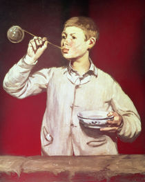 Boy Blowing Bubbles, 1867-69 by Edouard Manet
