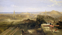 Edinburgh from the Castle, 1847 by David Roberts