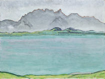 The Stockhorn Mountains and Lake Thun by Ferdinand Hodler